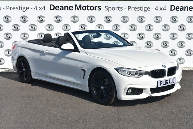 2016 16 BMW 4 SERIES 2.0 420I M SPORT 2d AUTO 181 BHP HUGE SPECIFICATION
