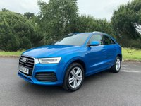USED 2015 65 AUDI Q3 1.4 TFSI S LINE 5d AUTO 148 BHP LOW MILES ONE OWNER AUTOMATIC FSH