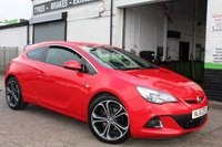 2016 VAUXHALL ASTRA 1.6 GTC LIMITED EDITION CDTI S/S 3d 108 BHP £9500.00