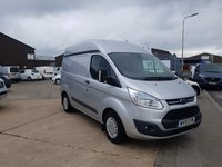 USED 2015 15 FORD TRANSIT CUSTOM 2.2 310 TREND SWB LOW ROOF PANEL VAN 125 BHP