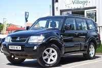 USED 2006 06 MITSUBISHI SHOGUN 3.2 EQUIPPE WARRIOR LWB DI-D 5d AUTO 159 BHP FANTASTIC VALUE STUNNING CAR, EARLY VIEWING RECOMMENDED