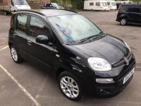 USED 2012 12 FIAT PANDA 0.9 TwinAir Lounge (s/s) 5dr LONG MOT/LOW INSURANCE/BLACK