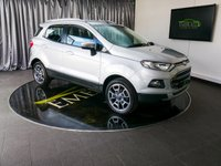USED 2015 65 FORD ECOSPORT 1.5 TITANIUM TDCI 5d 94 BHP £0 DEPOSIT FINANCE AVAILABLE, AIR CONDITIONING, AUTOMATIC HEADLIGHTS, AUX INPUT, BLUETOOTH CONNECTIVITY, CLIMATE CONTROL, CRUISE CONTROL, DAYTIME RUNNING LIGHTS, FORD SYNC WITH VOICE CONTROL, HEATED SEATS, KEYLESS ENTRY, STEERING WHEEL CONTROLS, TRIP COMPUTER, USB INPUT