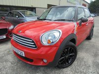 2012 MINI COUNTRYMAN 2.0 COOPER D ALL4 5d AUTO 110 BHP £8495.00