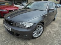 USED 2007 BMW 1 SERIES 2.0 118I M SPORT 5d AUTO 141 BHP Excellent Condition, FSH, No Fee Finance, No Deposit Necessary