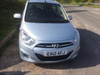 USED 2012 12 HYUNDAI I10 1.2 Active 5dr LOW MILES/LONG MOT/CLEAN CAR