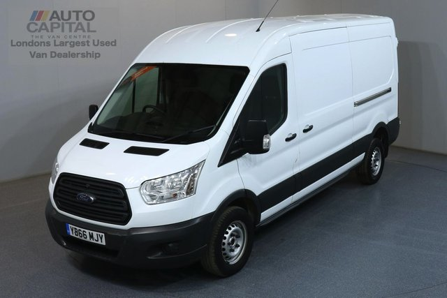 2016 66 FORD TRANSIT 2.2 350 L3H2 LWB MEDIUM ROOF 124 BHP RWD ELECTRIC WINDOWS, BLUETOOTH, AUX USB
