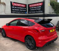 USED 2018 18 FORD FOCUS RS 'RED EDITION' 2.3 5DR 345 BHP, 1 OF 300 LTD EDITION RACE RED RS WARRANTY UNTIL MARCH 2021, DOOR PROTECTORS
