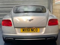 USED 2012 61 BENTLEY CONTINENTAL 6.0 GT Coupe 2dr Petrol Automatic (567 g/km, 567 bhp) +FULL SERVICE+WARRANTY+FINANCE