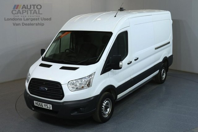 2017 66 FORD TRANSIT 2.2 350 L3H2 LWB MEDIUM ROOF 124 BHP RWD MOT UNTIL 30/01/2020