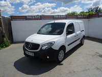 USED 2016 16 MERCEDES-BENZ CITAN 1.5 109 CDI 1d 90 BHP MERCEDES BENZ CITAN EXTRA LONG WHEEL BASE AIR CON