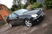 USED 2005 55 MERCEDES-BENZ C CLASS 2.1 C220 CDI AVANTGARDE SE 4d AUTO 148 BHP + VERY TIDY LONG MOT + EXCEPTIONAL CONDITION + GOOD HISTORY
