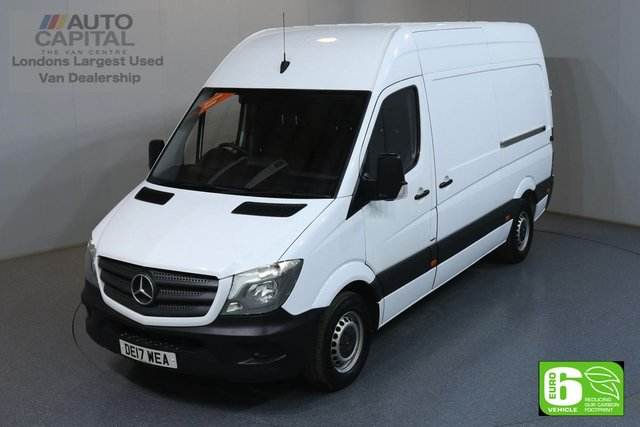 2017 17 MERCEDES-BENZ SPRINTER 2.1 314CDI 140 BHP MWB HIGH ROOF EURO 6 ENGINE MOT UNTIL 30/03/2020