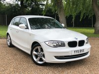 USED 2011 11 BMW 1 SERIES 2.0 118D SPORT 5d 141 BHP AIR CON, ALLOY WHEELS,BLUETOOTH