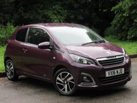 USED 2016 16 PEUGEOT 108 1.2 PURETECH ALLURE 3d 82 BHP LOW MILEAGE STARTER CAR