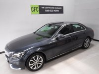 USED 2016 16 MERCEDES-BENZ C CLASS 2.1 C220 D SPORT 4d AUTO 170 BHP 4 door saloon