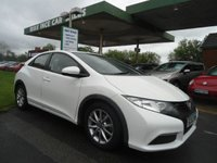 USED 2013 62 HONDA CIVIC 1.3 I-VTEC SE 5d 98 BHP 5 SERVICES
