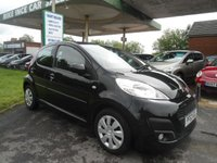 2014 PEUGEOT 107 1.0 ACTIVE 5d 68 BHP 3 SERVICE STAMPS £SOLD
