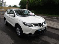 USED 2016 65 NISSAN QASHQAI 1.5 DCI VISIA SMART VISION 5d 108 BHP WAS £11,495 NOW ONLY £10,995 !!