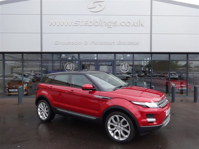 2015 15 LAND ROVER RANGE ROVER EVOQUE 2.2 SD4 PURE TECH 5d AUTO 190 BHP