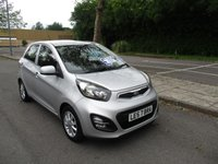 USED 2013 13 KIA PICANTO 1.0 2 5d 68 BHP WAS £4,995 NOW ONLY £4,495 !!