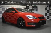 USED 2014 14 SEAT LEON 1.8 TSI FR TECHNOLOGY DSG 3d 180 BHP ONE FORMER KEEPER with FULL SERVICE HISTORY & A FEB 2020 MOT, CUSTOM STAINLESS STEEL EXHAUST SYSTEM, STUNNING CAR