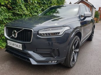 2015 VOLVO XC90 2.0 D5 R-DESIGN AUTOMATIC AWD - FULL VOLVO SERVICE HISTORY - SATELLITE NAVIGATION, PANORAMIC SUNROOF, 360 CAMERA, REVERSING CAMERA £30990.00