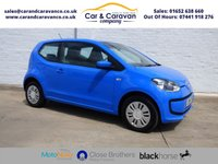 USED 2014 64 VOLKSWAGEN UP 1.0 MOVE UP 3d 59 BHP Full Dealer History SATNAV A/C Buy Now, Pay Later Finance!