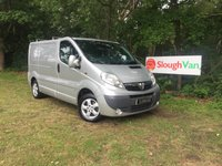 USED 2012 12 VAUXHALL VIVARO 2.0 2700 CDTI SPORTIVE 115PS SWB Air Conditioning, Electric Windows And Mirrors