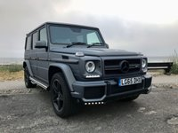 USED 2015 65 MERCEDES-BENZ G-CLASS G63 AMG 4 Matic 5.5 V8 Tip Auto 5dr ( 571 bhp ) Super Low Mileage Brabus Front Bumper Capristo Exhaust System Designo AMG Quilted Interior