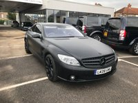 USED 2008 08 MERCEDES-BENZ CL 6.2 CL63 AMG 2d AUTO 518 BHP