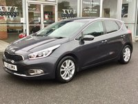 USED 2013 13 KIA CEED 1.6 3 ECODYNAMICS 5 DOOR HATCHBACK 133 BHP