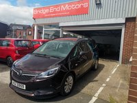 USED 2017 VAUXHALL ZAFIRA TOURER 1.4 DESIGN 5d 138 BHP ONLY 9234 MILES FROM NEW! VAUXHALL WARRANTY UNTIL 2020, NEW MODEL 7 SEATER, LARGE DISPLAY SCREEN WITH BLUETOOTH, AIR CON, PRIVACY GLASS, PARKING SENSORS, ALLOY WHEELS