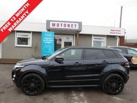 USED 2011 61 LAND ROVER RANGE ROVER EVOQUE 2.2 SD4 DYNAMIC 5DR DIESEL  190 BHP