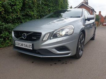 2012 VOLVO V60 1.6 PETROL  T3 R-DESIGN NAVIGATION - FULL VOLVO SERVICE HISTORY - ULEZ COMPLIANT,  SATELLITE NAVIGATION, BLIND SPOT ASSISTANCE, LANE DEPARTURE WARNING SYSTEM, INFRARED CRUISE CONTROL, FRONT & REAR PARKING SENSORS, REVERSING CAMERA, PREMIUM STEREO SYSTEM, HEATED SEATS  £8990.00