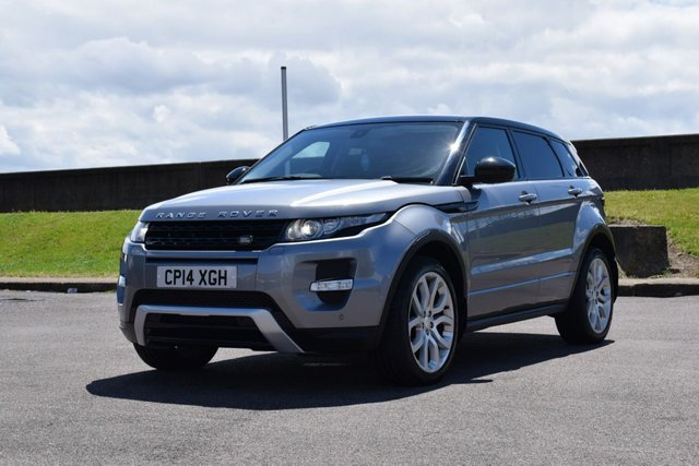 USED 2014 14 LAND ROVER RANGE ROVER EVOQUE 2.2 SD4 DYNAMIC 5d AUTO 190 BHP