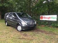 USED 2014 64 MERCEDES-BENZ VITO 2.1 113 CDI LWB AIR CON Air Conditioning, One Owner, Carpet Lined