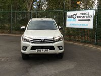 USED 2017 67 TOYOTA HI-LUX 2.4 INVINCIBLE 4WD D-4D DCB 1d 148 BHP All Vehicles with minimum 6 months Warranty, Van Ninja Health Check and cannot be beaten on price!