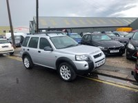 2004 LAND ROVER FREELANDER 2.0 TD4 SPORT STATION WAGON 5d 110 BHP £2495.00