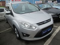 2011 FORD GRAND C-MAX 7 SEATER PRIVATE REG/YEAR 2011 1.6 ZETEC 5d 124 BHP