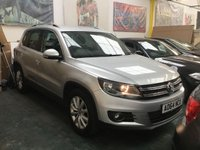 2014 VOLKSWAGEN TIGUAN 2.0 MATCH TDI BLUEMOTION TECHNOLOGY 5d 139 BHP £9500.00