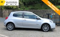USED 2012 12 RENAULT CLIO 1.5 DYNAMIQUE TOMTOM DCI 3d 88 BHP STUNNING LITTLE CAR INSIDE AND OUT, VERY ECONOMICAL, ONLY £20 FOR 12 MONTHS ROAD TAX! SOUGHT AFTER TOM TOM MODEL WITH HALF LEATHER, BLUETOOTH AND SAT NAV!