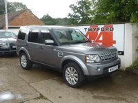 USED 2011 61 LAND ROVER DISCOVERY 3.0 4 SDV6 HSE 5d AUTO 255 BHP 2012 MODEL, 8 SPEED GEARBOX,PRIVACY GLASS