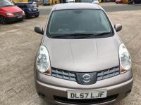 USED 2008 57 NISSAN NOTE 1.6 16v Tekna 5dr AUTOMATIC/LONG MOT/HISTORY