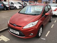 USED 2010 59 FORD FIESTA 1.4 ZETEC 16V 5d AUTO 96 BHP Automatic, 5 door, 56000 miles, exceptional. Hard to find.