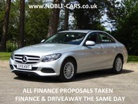 2015 MERCEDES-BENZ C CLASS 2.1 C220 BLUETEC SE 4d AUTO 170 BHP £SOLD