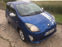USED 2008 08 RENAULT TWINGO 1.2 GT 3dr LOW MILES/LONG MOT