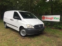 USED 2012 62 MERCEDES-BENZ VITO 2.1 116 CDI SWB COMPACT AIR CON Air Conditioning, Bluetooth, Cruise Control