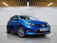 "USED 2014 64 TOYOTA AURIS 1.8 EXCEL VVT-I 5d AUTO 99 BHP **NO ULEZ CHARGE ON THIS VEHICLE** SATNAV | LEATHERS | 17"" ALLOYS 