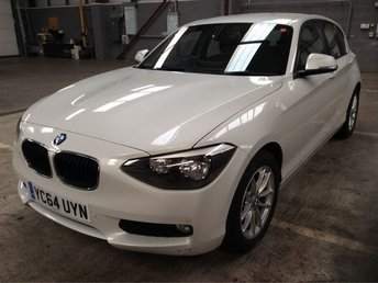 2014 BMW 1 SERIES 1.6 116D EFFICIENTDYNAMICS 5d 114 BHP £9500.00